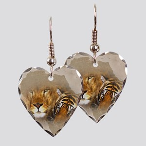 Out of Africa Earring Heart Charm