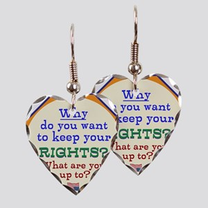 Constitutional Rights Earring