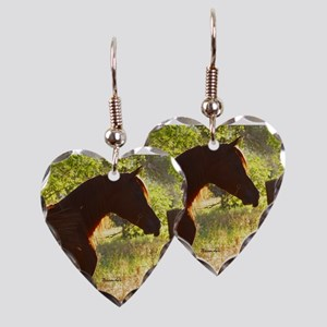Arabian Stallion in the Sun Earring