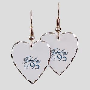 Fabulous at 95 Earring Heart Charm