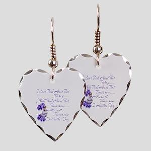 gonewiththewindmovie Earring Heart Charm