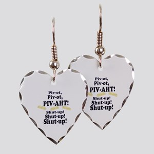 Pivot, Pivot, PIV-AHT! Earring Heart Charm