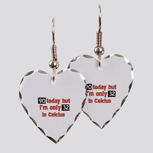 90 year old designs Earring Heart Charm