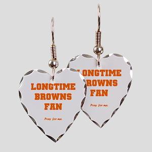 Browns Earring Heart Charm