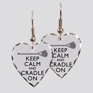 Keep Calm And Cradle On Earring
