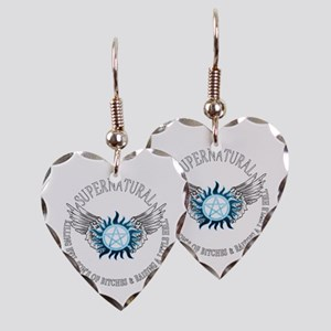 Supernatural protection Symbal Wings 03 Earring