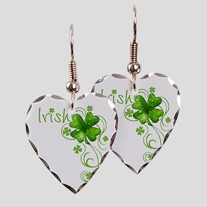 Irish Keepsake Earring Heart Charm