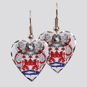 Neill Coat of Arms (Family Cre Earring Heart Charm