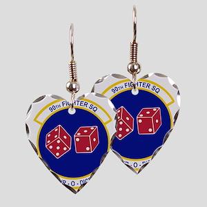 90_FS_Wht Earring Heart Charm