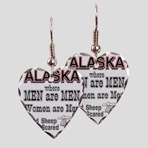 mem are men Earring Heart Charm