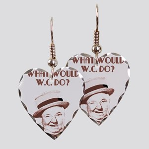 What would W.C. do? Earring Heart Charm