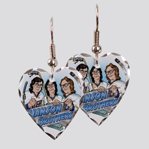 Put On The Foil! Earring Heart Charm