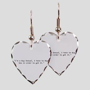 buysex12001400 Earring Heart Charm