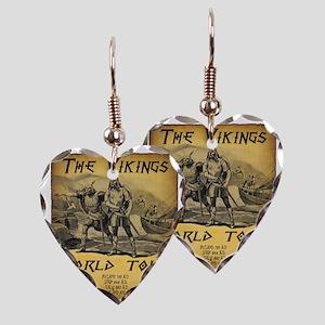Viking World Tour Earring Heart Charm