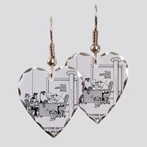 6110_loan_cartoon Earring Heart Charm
