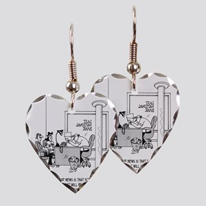 6120_mortgage_cartoon Earring Heart Charm