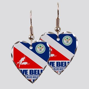 Dive Belize Earring Heart Charm