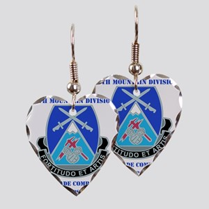 DUI-10 MTN DIV 3BCT SPECIAL TR Earring Heart Charm