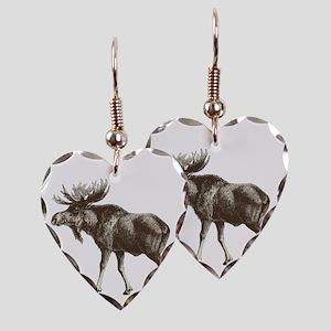 Moose-is-Loose-whtie Earring Heart Charm