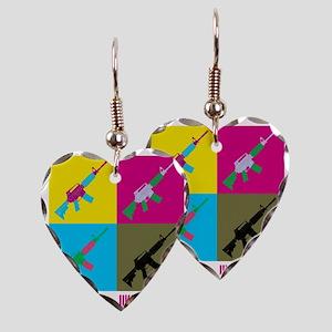 Ukara Sorted Earring Heart Charm