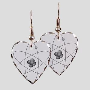 Atom Earring Heart Charm