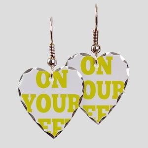 OYL_Yellow Earring Heart Charm
