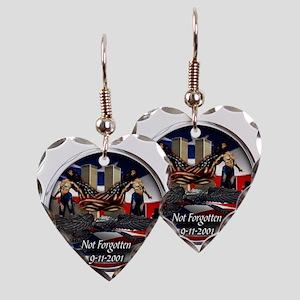 NOT FORGOTTEN Earring Heart Charm