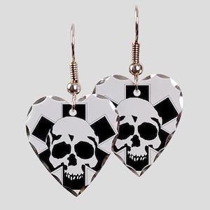 skull_star_final Earring Heart Charm