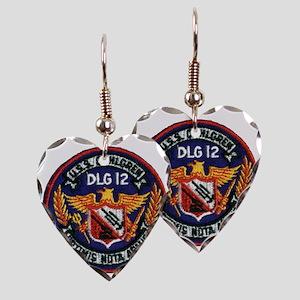dahlgrendlg patch Earring Heart Charm