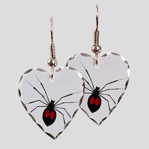 widow_001 Earring Heart Charm