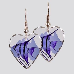 Australia -The Great Barrier R Earring Heart Charm
