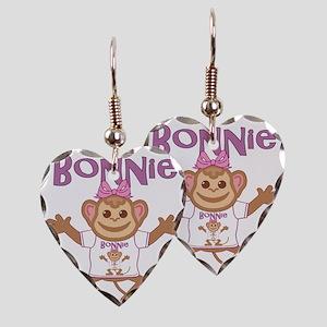 bonnie-g-monkey Earring Heart Charm