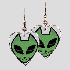 AlienKitty Earring Heart Charm