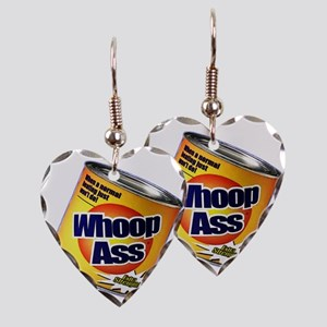 whoopass Earring Heart Charm