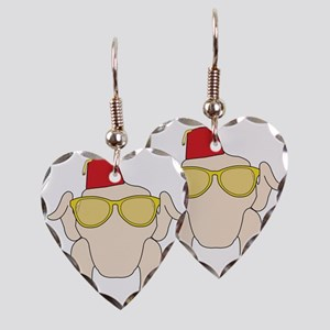 Friends Turkey Earring Heart Charm