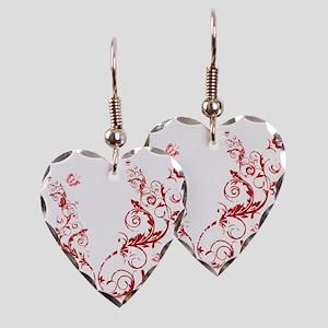 bethechange_red_dark Earring Heart Charm