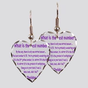 wh-lavendar, 73-quote overlapp Earring Heart Charm