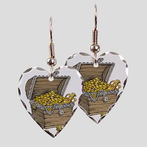 Treasure Earring Heart Charm