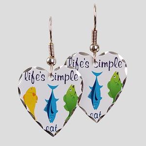 Lifes Simple Earring Heart Charm