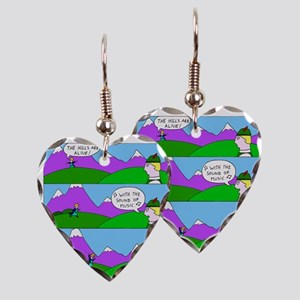 The Sound of Music Earring Heart Charm
