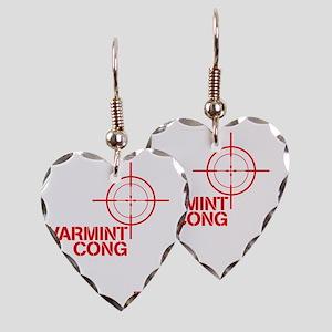 Varmint cong Earring Heart Charm