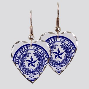 TexasBlue Earring Heart Charm