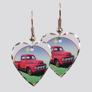 51-F1-C8trans Earring Heart Charm
