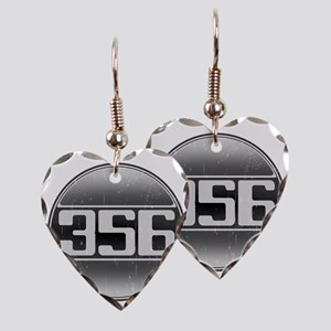 356 copy Earring Heart Charm