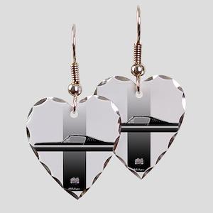 mustangPlain Earring Heart Charm
