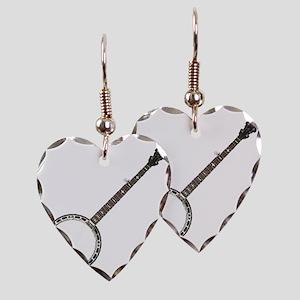 great-theory-blk-T Earring Heart Charm
