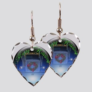 Ornament Earring Heart Charm