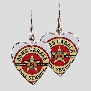 DadsGarage Earring Heart Charm