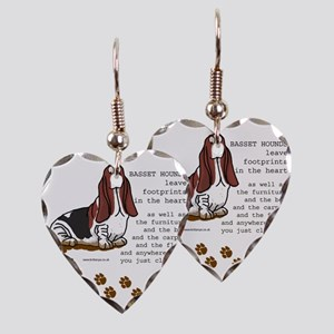 footprints-basset copy Earring Heart Charm
