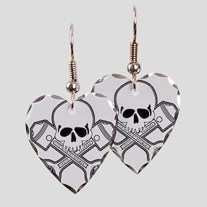 SKULL - MC - 17th Earring Heart Charm